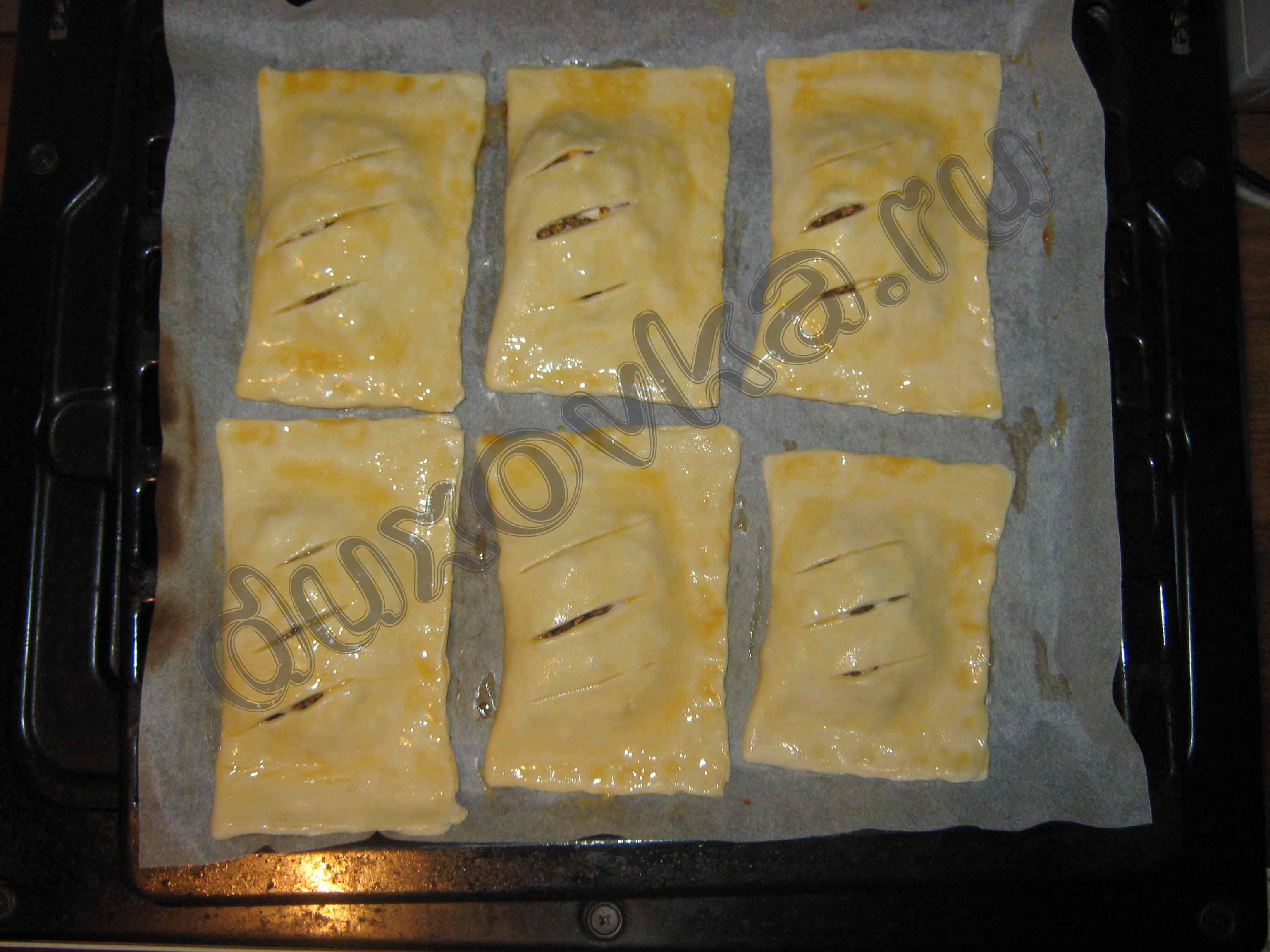 Слойки с мясом пошаговый рецепт (17 фото)