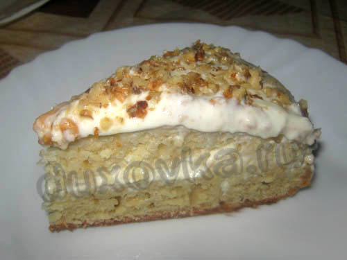 Рецепт пирога на простокваше с яблоками