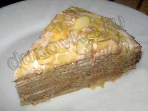 блинный торт рецепты с фото с бананом