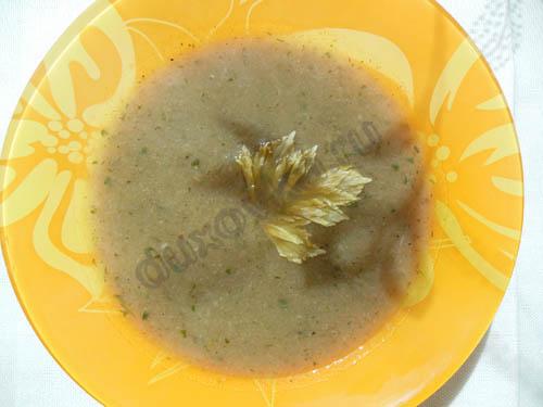 суп с грибной с шампиньонами рецепт с фото
