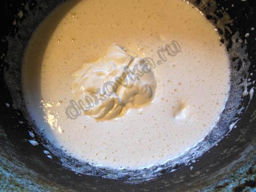 шоколадный торт на сметане с какао рецепт с фото