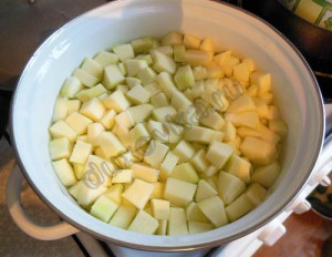 Компот из кабачков с лимоном-3