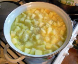 Компот из кабачков с лимоном-5