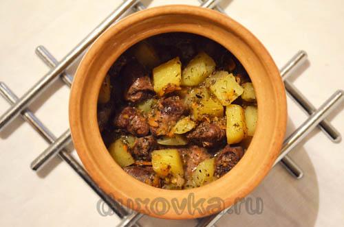 Рецепт сазан с картошкой в фольге в духовке