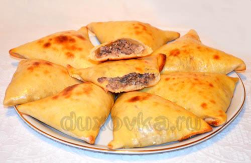 самса рецепты с мясом и картошкой с фото