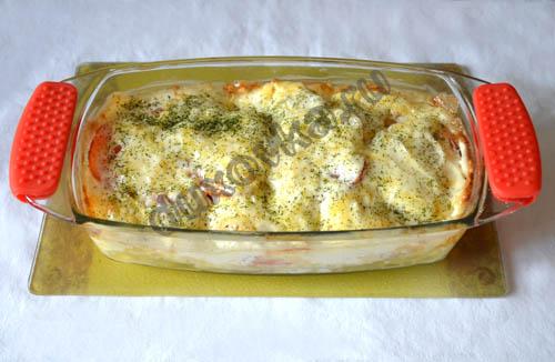как вкусно приготовить треску с картошкой в духовке