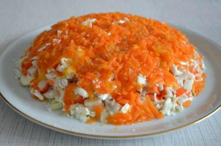 Фото: Шаг 6: почистить и натереть морковь