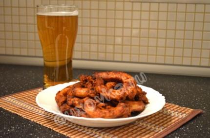 Фото: Куриные шейки к пиву