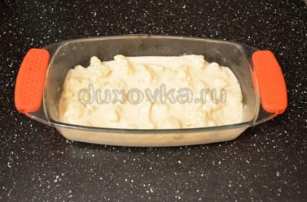 Цветная капуста, запечённая под сыром