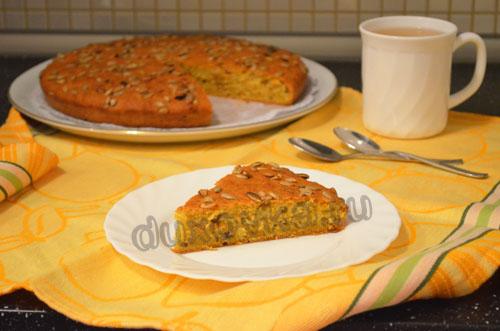 Фото: Тыквенный пирог – простой рецепт