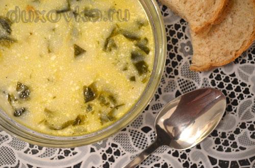 зеленые щи с щавелем и яйцом рецепт с курицей и