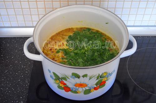 вкусный рецепт суп с яичной лапшой