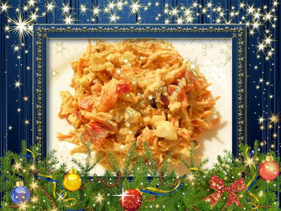 низкокалорийный рецепт салата с консервированным тунцом рецепт